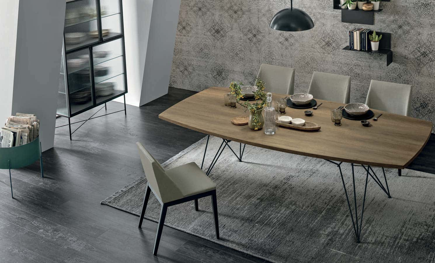 2MD Ttables and Chairs - Tomasella - Zanette