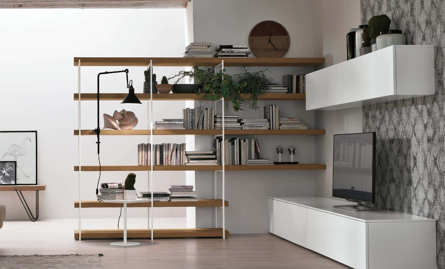 2MD Tv Units and Bookshelves - Tomasella - Zanette